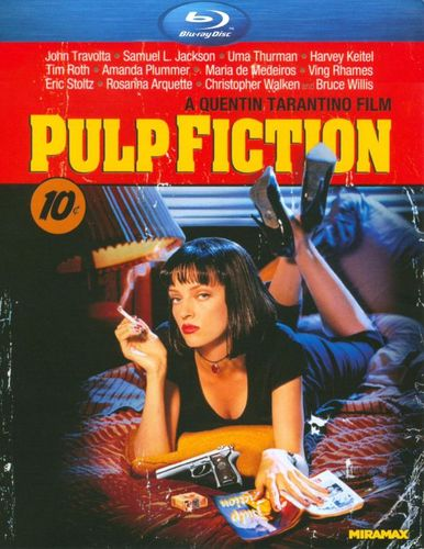 Pulp Fiction [Blu-ray] [1994] 3496279