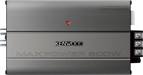 Kenwood - 300W Class D Bridgeable Multichannel MOSFET Amplifier - Gray