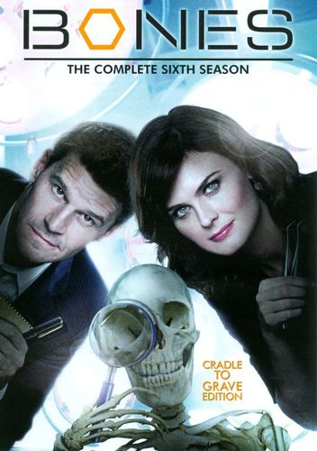 Bones: The Complete Sixth Season [6 Discs] [DVD] 3509826