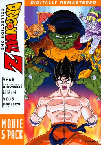 DragonBall Z: Movie 4 Pack - Collection One [5 Discs] [DVD] 3510447