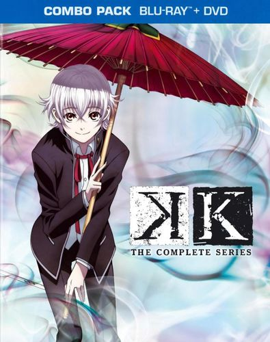 K: The Complete Series [4 Discs] [Blu-ray] 3512006