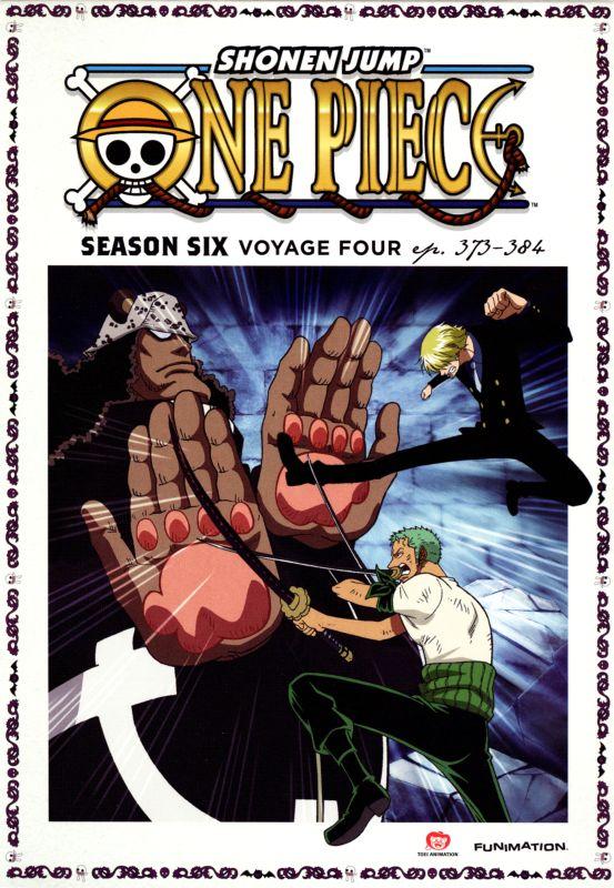 One Piece: Season Six - Voyage Four [2 Discs] [Blu-ray] [DVD] 3512303
