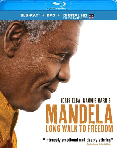 Mandela: Long Walk to Freedom [2 Discs] [Includes Digital Copy] [UltraViolet] [Blu-ray/DVD] [2013] 3518064