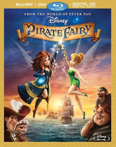 The Pirate Fairy [Blu-ray/DVD] [2014] 3518142
