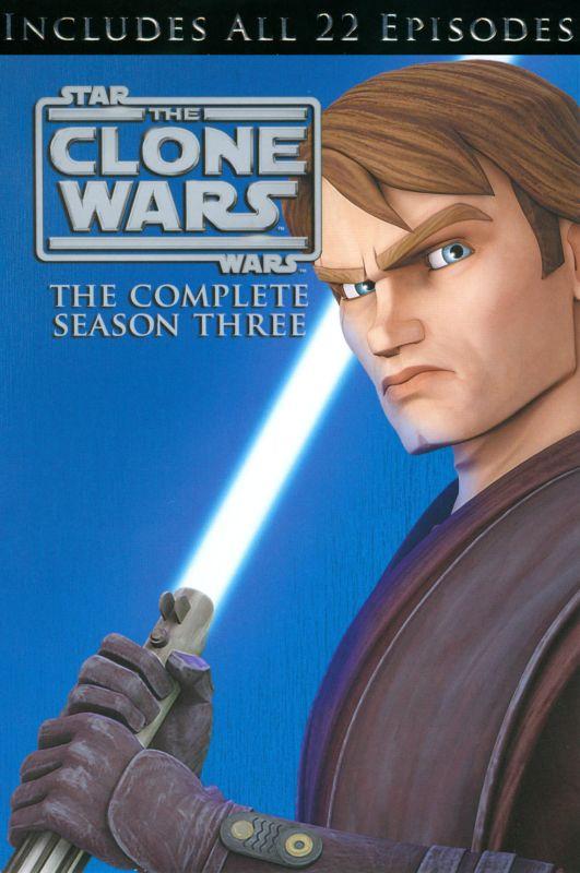 Star Wars: The Clone Wars - The Complete Season Three [4 Discs] [DVD] 3521337