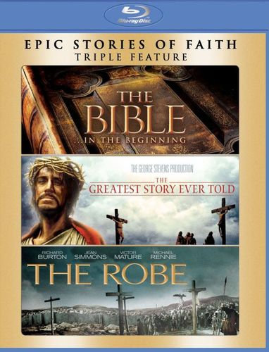 The Bible/The Greatest Story Ever Told/The Robe [3 Discs] [Blu-ray] 3530411