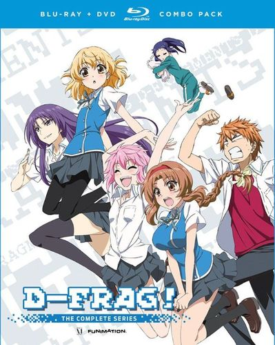 D-Frag!: The Complete Series [4 Discs] [Blu-ray/DVD] 3533051