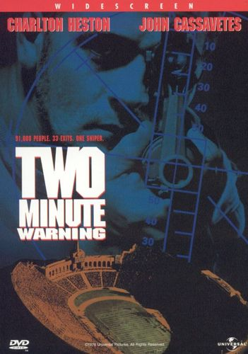 Two Minute Warning [DVD] [1976] 3534287