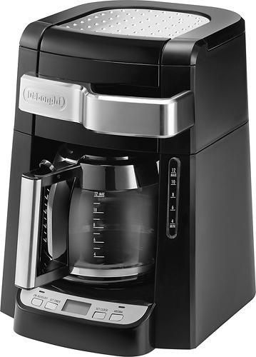 DeLonghi - 12-Cup Coffeemaker - Black 3543647