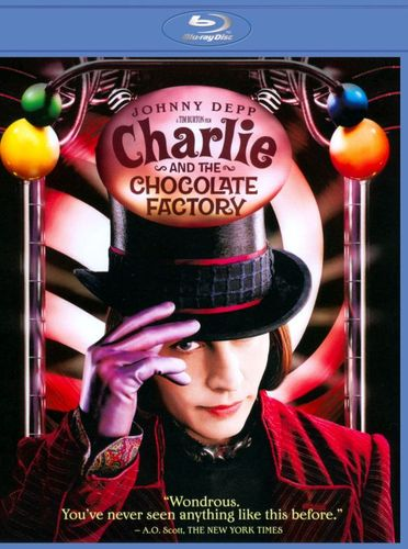 Charlie and the Chocolate Factory [Blu-ray] [2005] 3551063