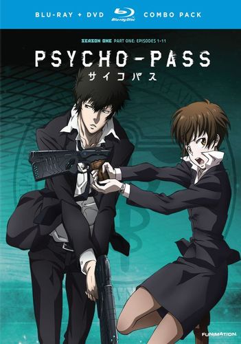 Psycho-Pass: Season One, Part One [4 Discs] [Blu-ray] 3585017