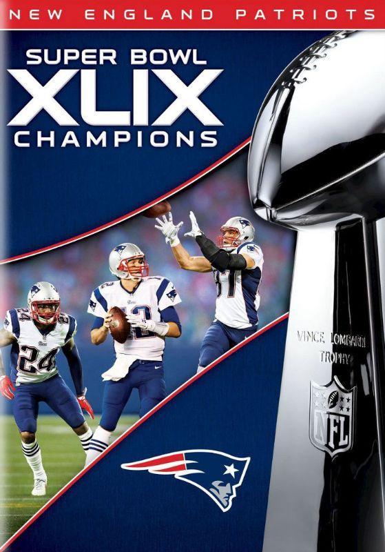 NFL: Super Bowl Champions XLIX [Blu-ray] [DVD] [2015] 3602072