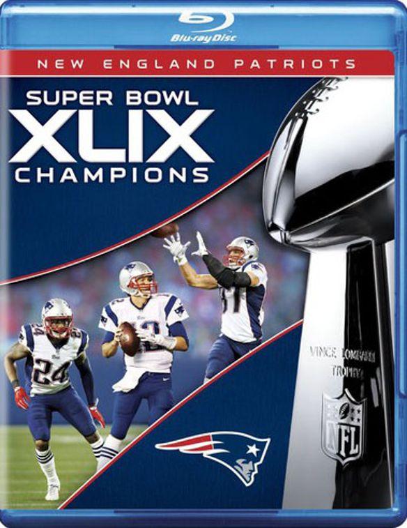 NFL: Super Bowl Champions XLIX [2 Discs] [Blu-ray] [2015] 3602178