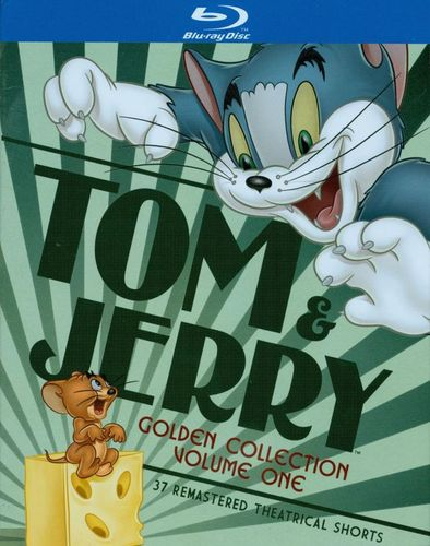 Tom & Jerry: Golden Collection, Vol. 1 [2 Discs] [Blu-ray] 3612947