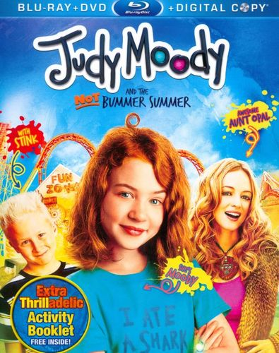 Judy Moody and the NOT Bummer Summer [3 Discs] [Includes Digital Copy] [Blu-ray/DVD] [2011] 3613249