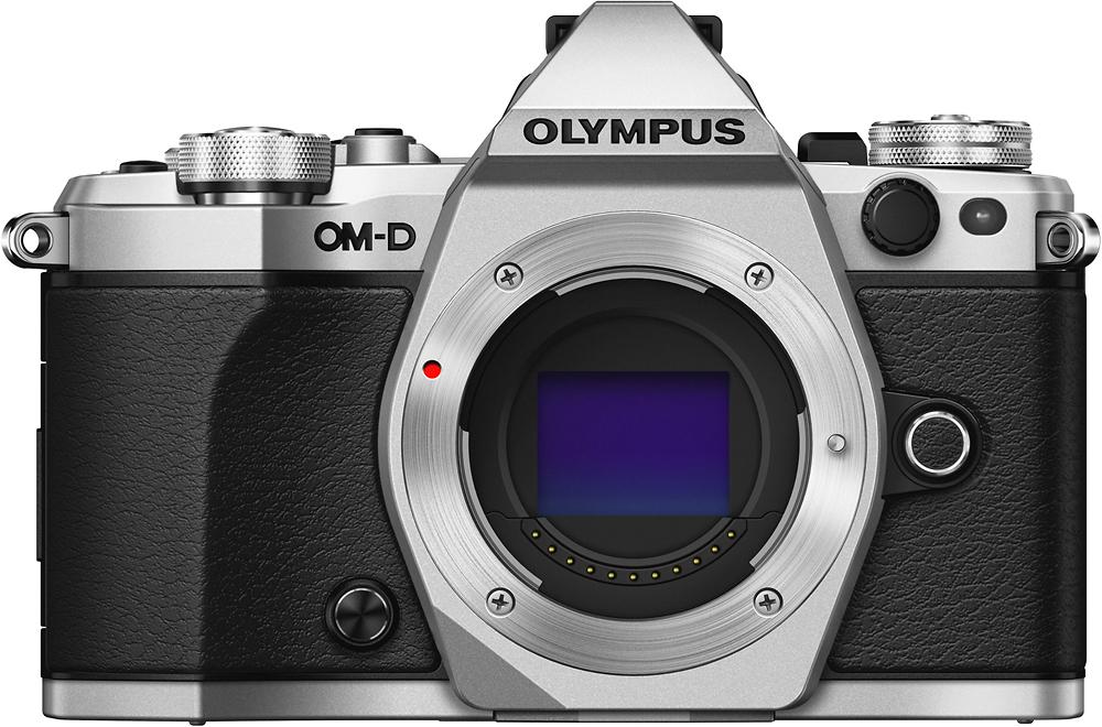 Olympus - Omd E-m5 Mark Ii Mirrorless Camera  - Silver