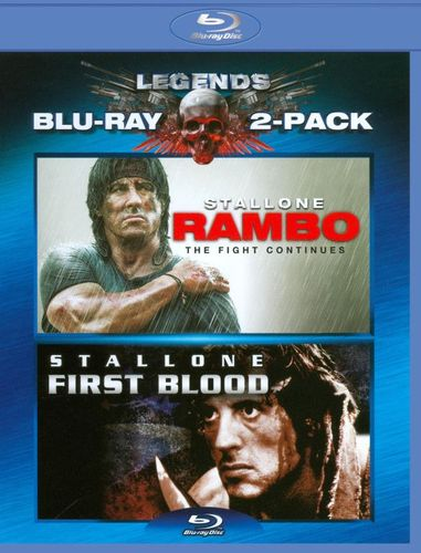 Rambo: First Blood/Rambo: The Fight Continues [2 Discs] [Blu-ray] 3624679