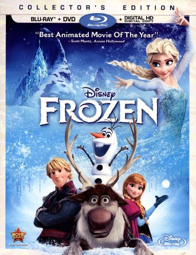 Frozen [2 Discs] [Includes Digital Copy] [Blu-ray/DVD] [2013] 3642002