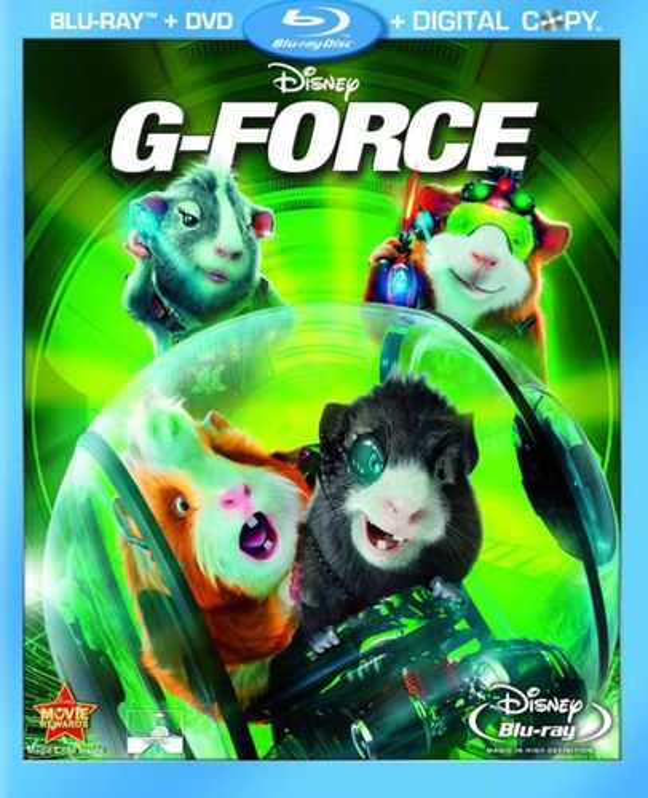 G-Force 3D [3 Discs] [3D] [Blu-ray/DVD] [Blu-ray/Blu-ray 3D/DVD] [2009] 3648323
