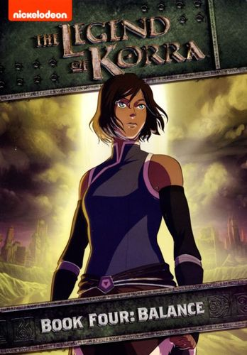 Legend of Korra: Book Four - Balance [2 Discs] [DVD] 3663018