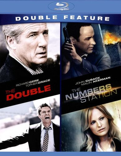 The Double/The Numbers Station [2 Discs] [Blu-ray] 3674017