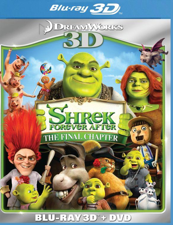 Shrek Forever After 3D [2 Discs] [3D] [Blu-ray/DVD] [Blu-ray/Blu-ray 3D/DVD] [2010] 3684921