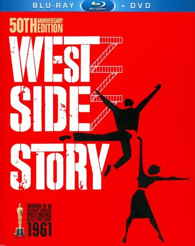 West Side Story [50th Anniversary Edition] [3 Discs] [Blu-ray/DVD] [1961] 3684958