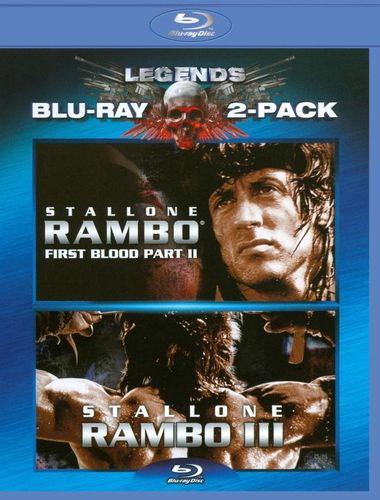 Rambo: First Blood II/Rambo: First Blood III [2 Discs] [Blu-ray] 3696738