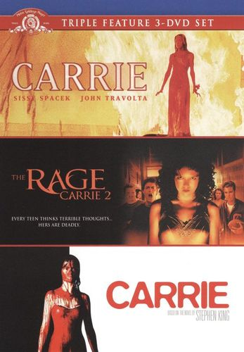 Carrie Collection [3 Discs] [DVD] 3697488
