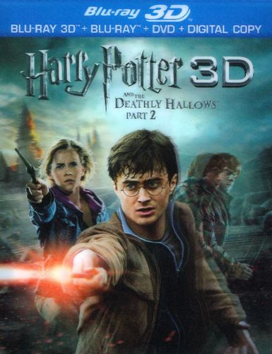 Harry Potter and the Deathly Hallows, Part 2 [3D] [Blu-ray] [Blu-ray/Blu-ray 3D] [2011]