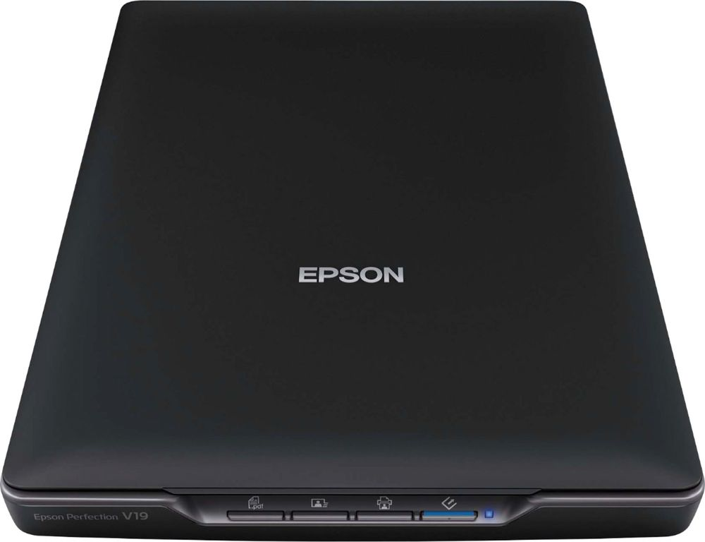 Epson Epson Perfection V19 - B11B231201 Flatbed Color Image Scanner Black
