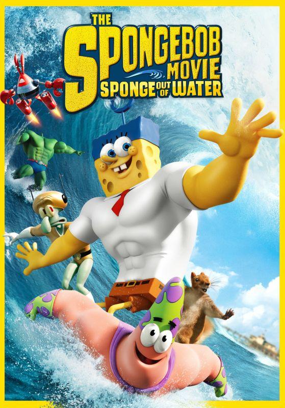 The SpongeBob Movie: Sponge out of Water [DVD] [2015] 3707021