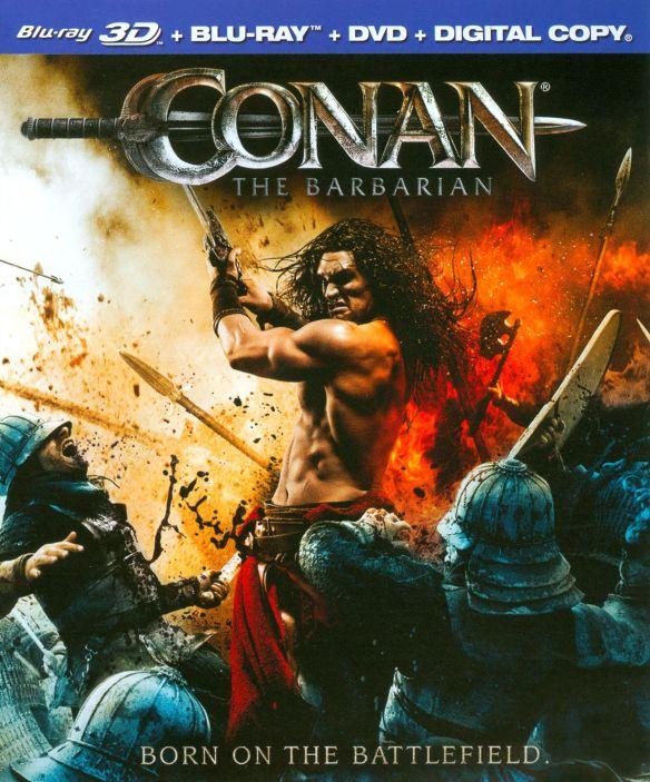 Conan the Barbarian [2 Discs] [3D] [Blu-ray/DVD] [Blu-ray/Blu-ray 3D/DVD] [2011] 3720284