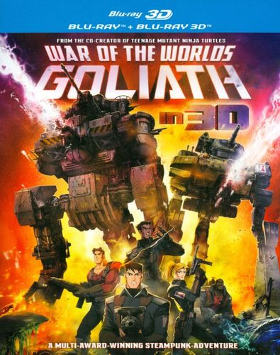War of the Worlds: Goliath [Blu-ray] [English] [2012] 3762063