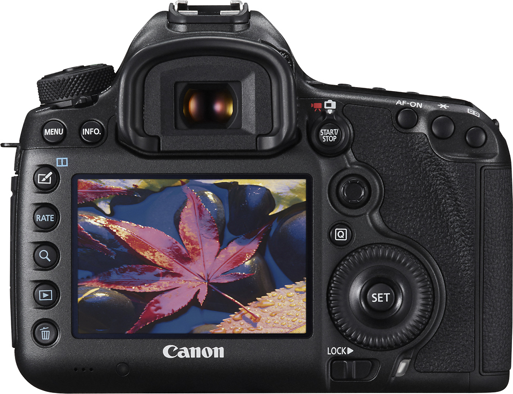 Canon 0582C002 EOS 5DS R DSLR Camera (Body Only) Black
