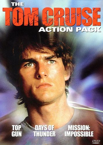The Tom Cruise Action Pack: Top Gun/Days of Thunder/Mission: Impossible [3 Discs] [DVD] 3779209