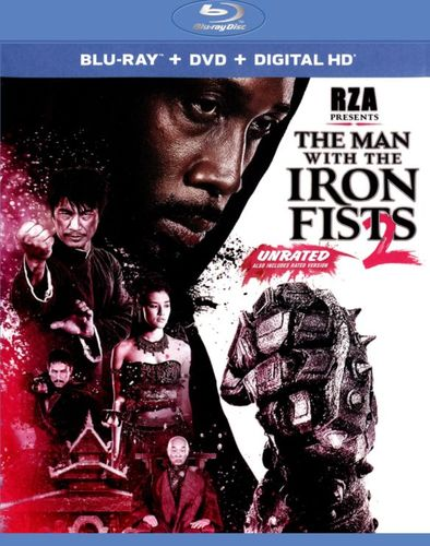 The Man with the Iron Fists 2 [2 Discs] [Blu-ray/DVD] [2015] 3792054