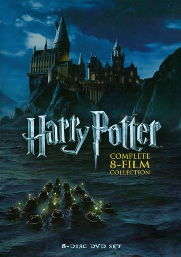 Harry Potter: Complete 8-Film Collection [8 Discs] [DVD] 3792604
