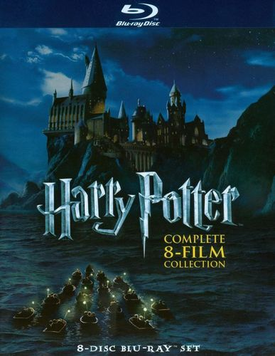 Harry Potter: Complete 8-Film Collection [8 Discs] [Blu-ray] 3792631
