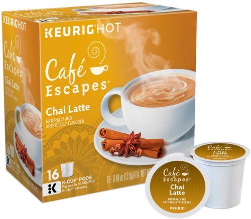 Café Escapes - Café Escapes Chai Latte K-Cup® Pods (16-Pack) - Multi 3811124