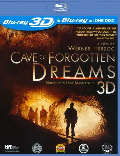 Cave of Forgotten Dreams [2 Discs] [3D] [Blu-ray] [Blu-ray/Blu-ray 3D] [2010] 3811212
