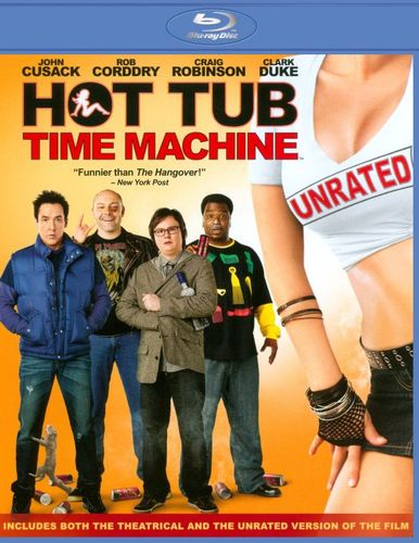 Hot Tub Time Machine [Unrated] [Blu-ray] [2010] 3830059