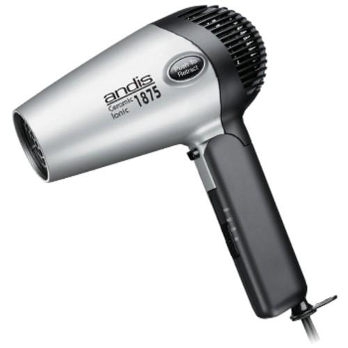 Andis - Fold-N-Go Ionic Hair Dryer - Gray 3833802