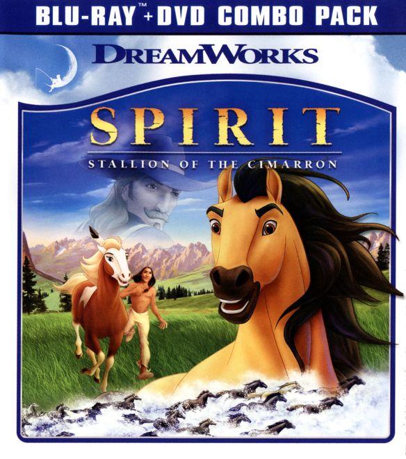 Spirit: Stallion of the Cimarron [2 Discs] [Blu-ray] [2002] 3843009