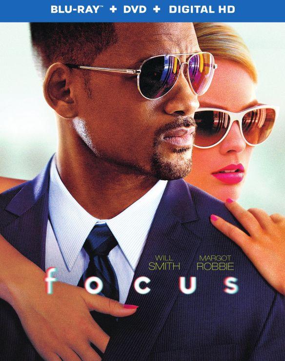 Focus [2 Discs] [Includes Digital Copy] [UltraViolet] [Blu-ray/DVD] [2015] 3844429