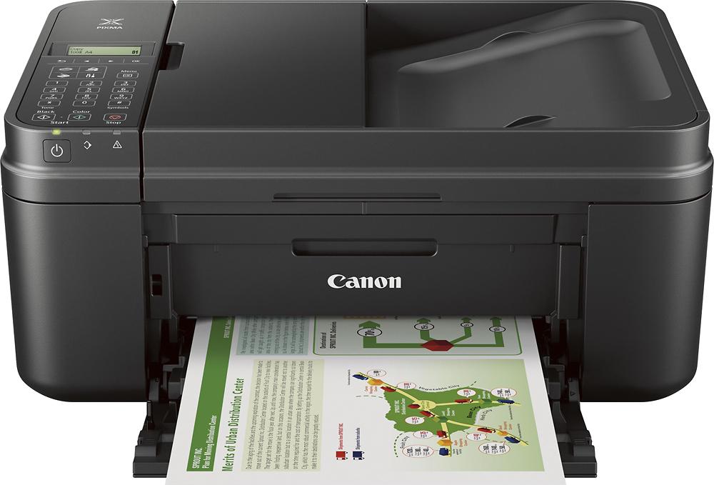 Canon - PIXMA MX492 Wireless All-In-One Printer - Black