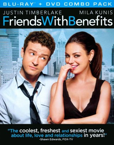 Friends with Benefits [2 Discs] [Blu-ray/DVD] [Includes Digital Copy] [UltraViolet] [2011] 3869679