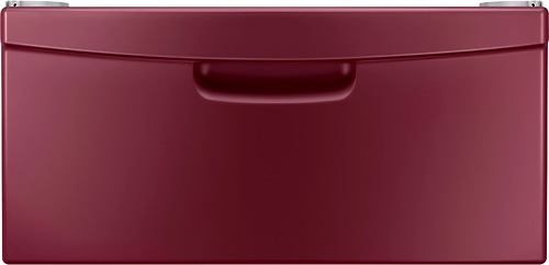 Samsung 14.2 in Merlot Laundry Pedestal with Storage Drawer