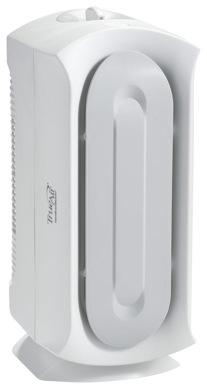 Hamilton Beach - TrueAir Compact Pet Air Purifier - White 3919498