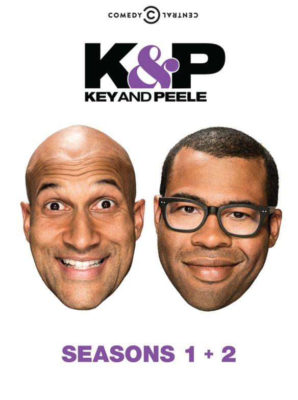 Key & Peele: Seasons 1 & 2 [4 Discs] [DVD] 3921169